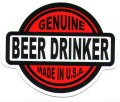 GENUINE BEER DRINKER MADE IN THE USA