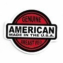 GENUINE AMERICAN MADE IN THE USA BREAST FED