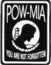 POW-MIA YOU ARE NOT FORGOTTEN