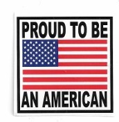 PROUD TO BE AN AMERICAN (2.25 x 2.25)